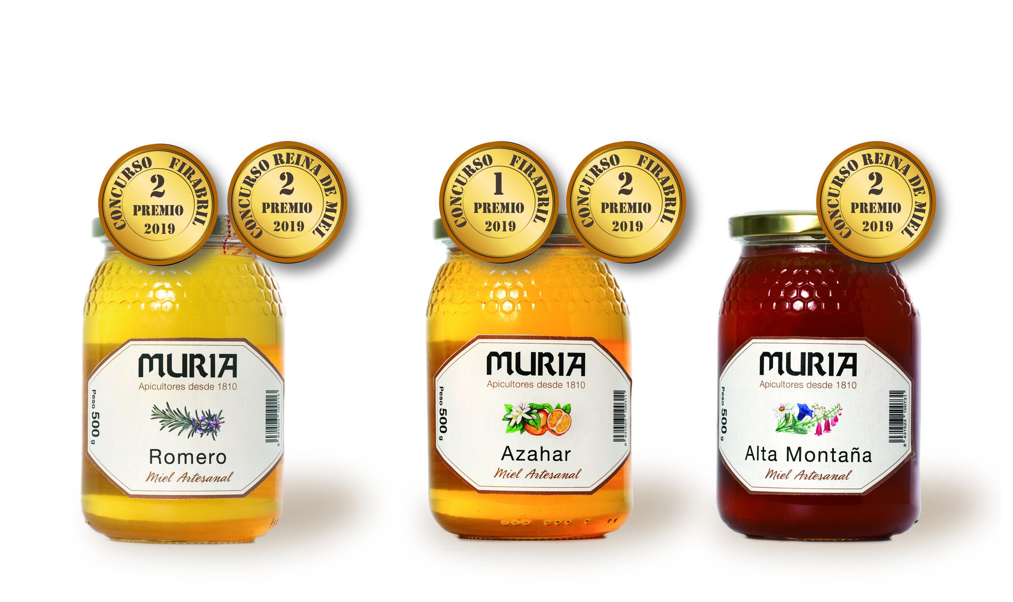 El concurso 'Reina de las Mieles' de Fira Q Balaguer premia dos variedades de Miel Muria