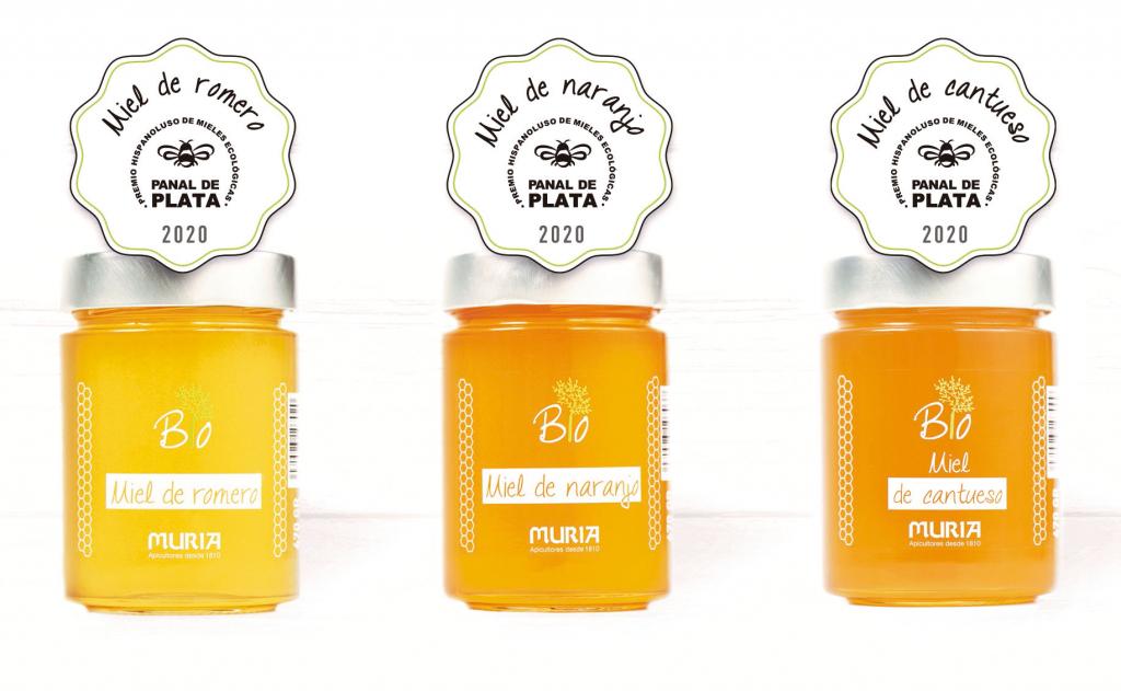 Miel premiada en el II Concurso Hispanoluso de mieles ecológicas