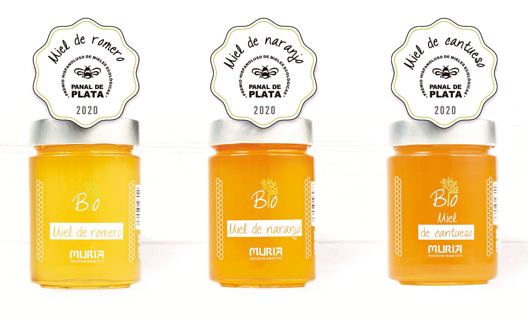 Muria Bio, great winner in the III Hispanoluso Organic Honey Contest