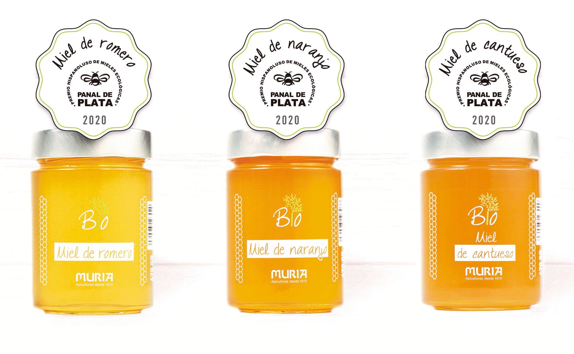 Prize 2019 Biolmiel Hispanoluso Organic Honey