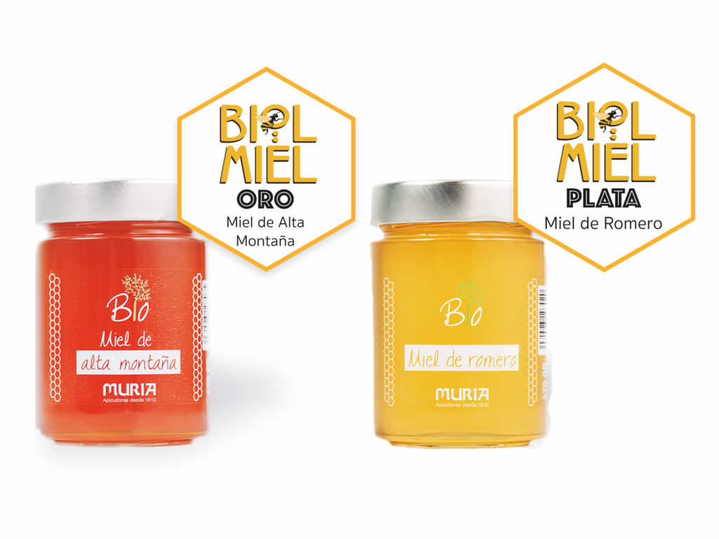 Prize 2019 Biolmiel Hispanoluso Organic Honey