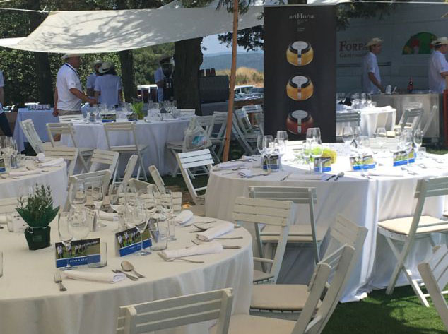 artMuria participates in the 18th edition of the Costa Brava Catalonia food and Golf Tournament