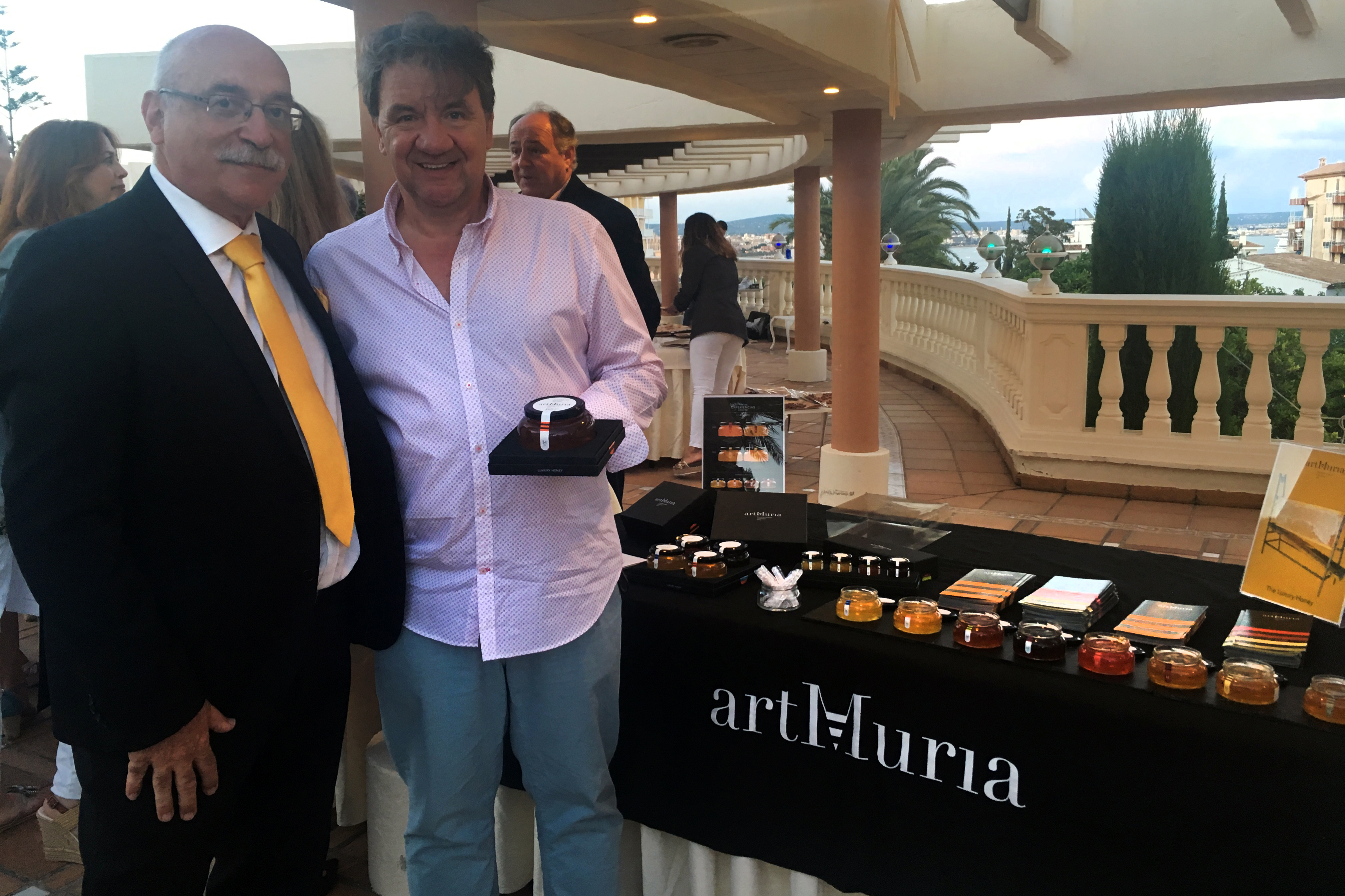 Tasting artMuria at the Taste of Spain event at Palma de Mallorca