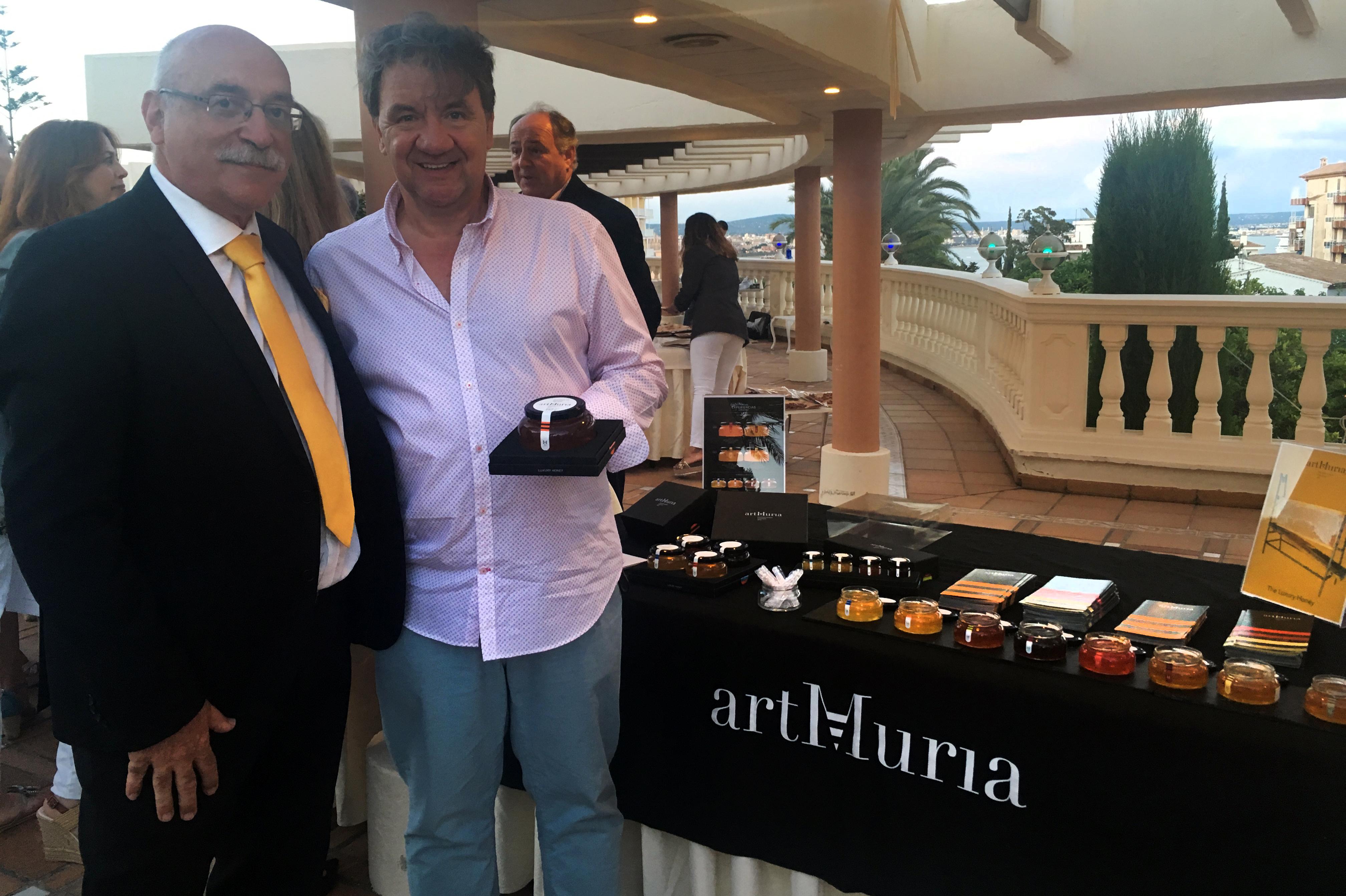 Degustació artMuria a l'esdeveniment Taste of Spain, Palma de Mallorca