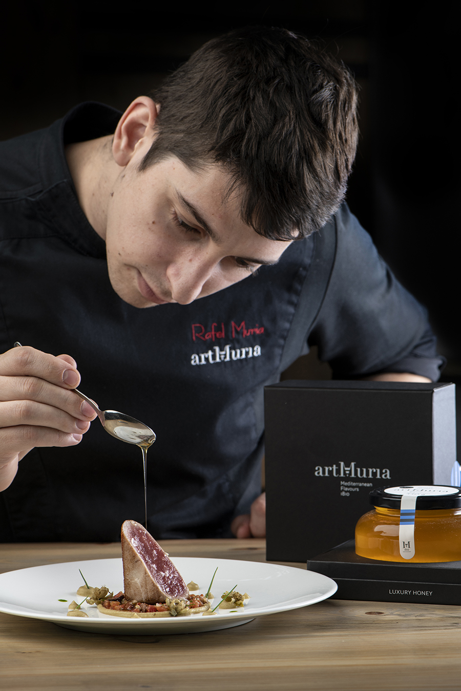 Rafel Muria, Quatre Molins and artMuria chef,  Candidate for the Madrid Fusion Upcoming chef award 2019