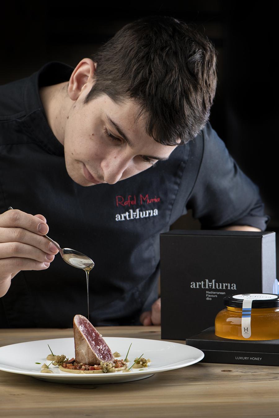 Rafel Muria, chef de Quatre Molins y artMuria, candidato al Premio Cocinero Revelación Madrid Fusión 2019