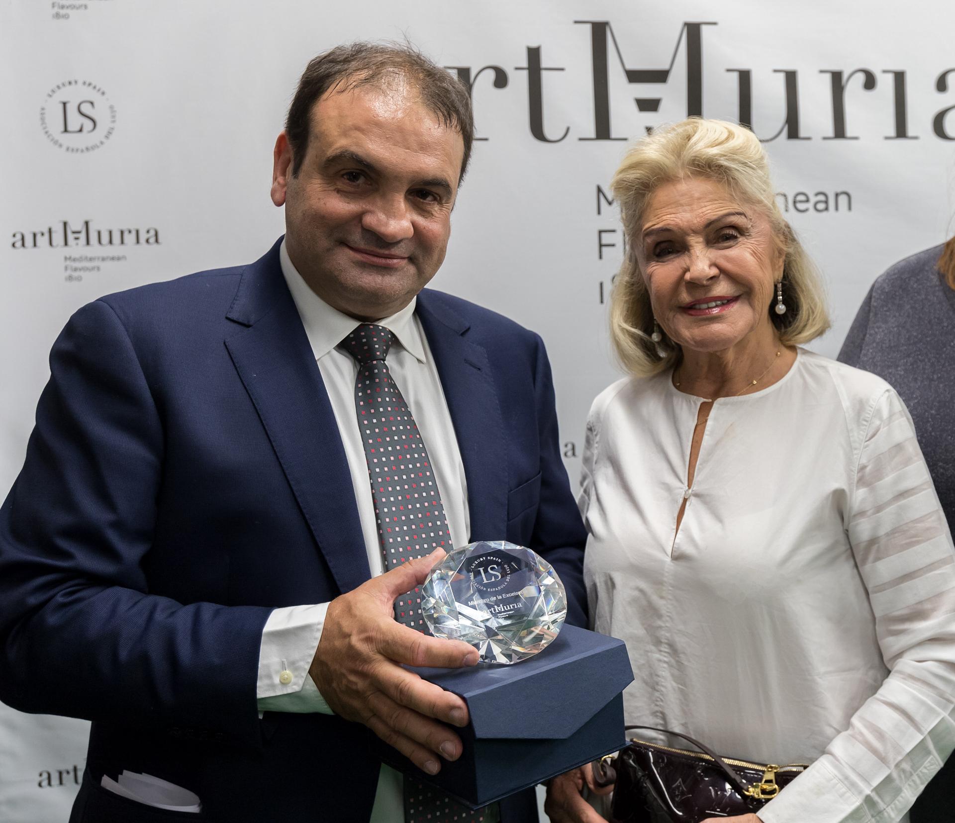 ArtMuria recibe la máxima distinción de la Asociación Española del Lujo
