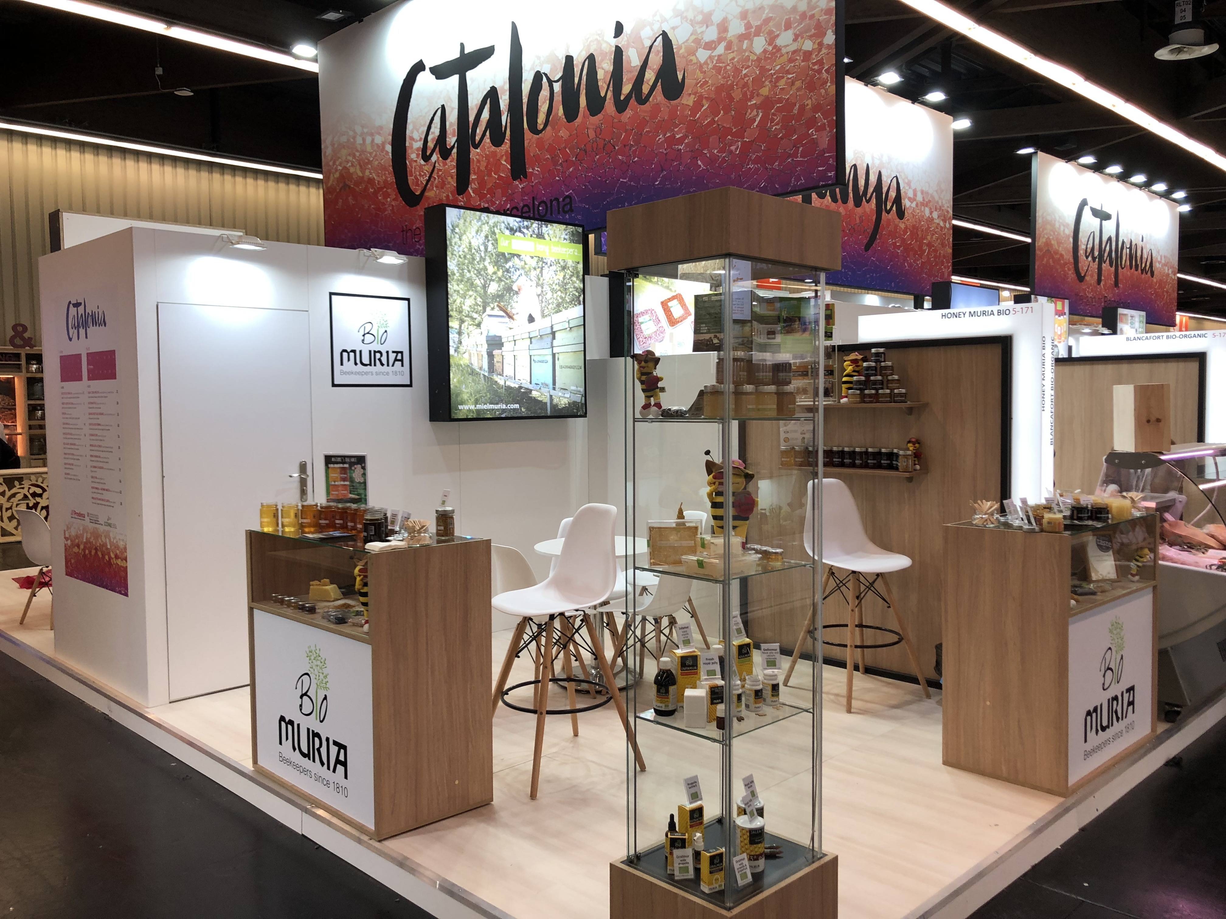 Great acceptation of the range of Organic honeys Muria BIO in the 30th edition of BioFach