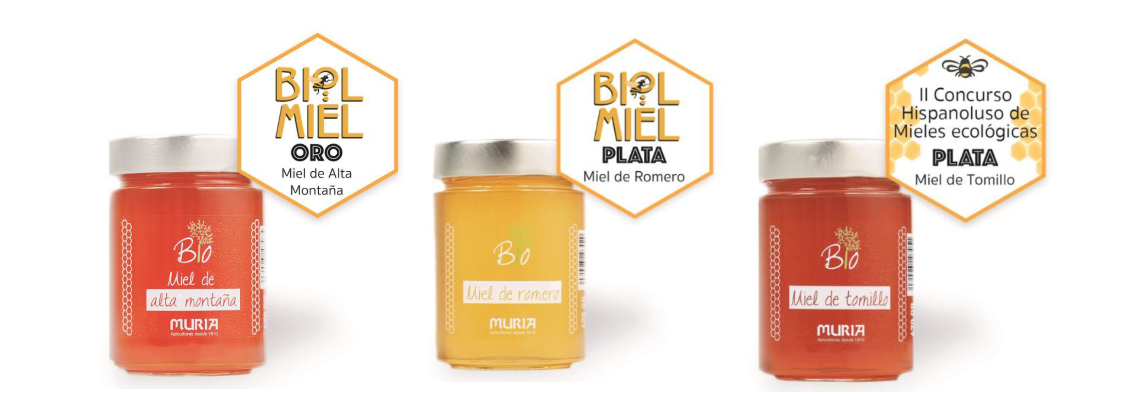 Muria BIO ecological range achieves three new international Awards!