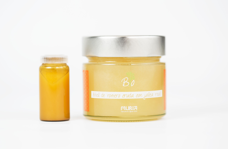 Miel cristalizada y jalea real: la combinación perfecta
