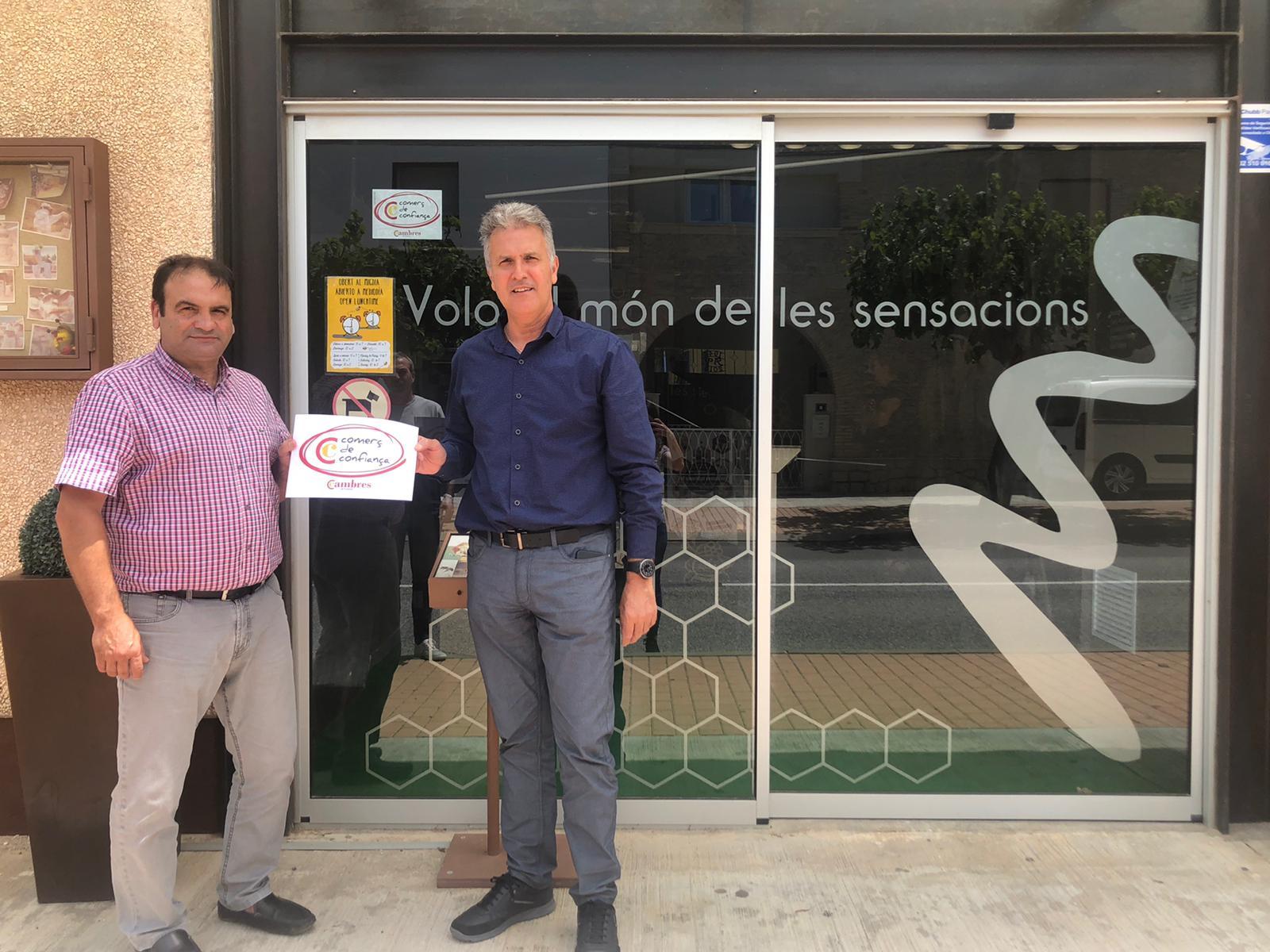 Mel Muria rep el segell Comerç de Confiança  de la Cambra de Comerç de Tortosa