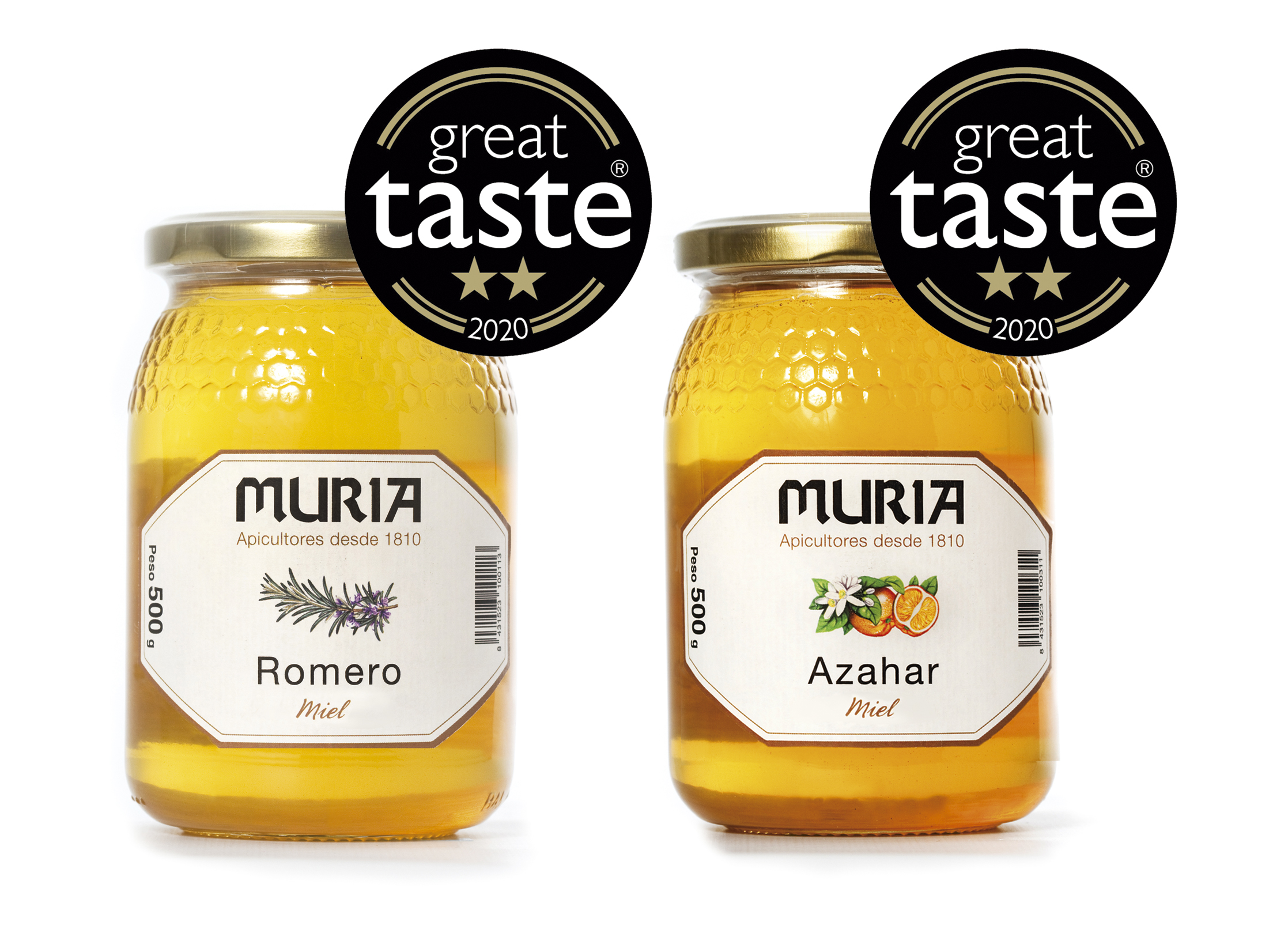 Miel Muria destaca de nuevo en el mayor  reconocimiento de excelencia del mundo gastronómico