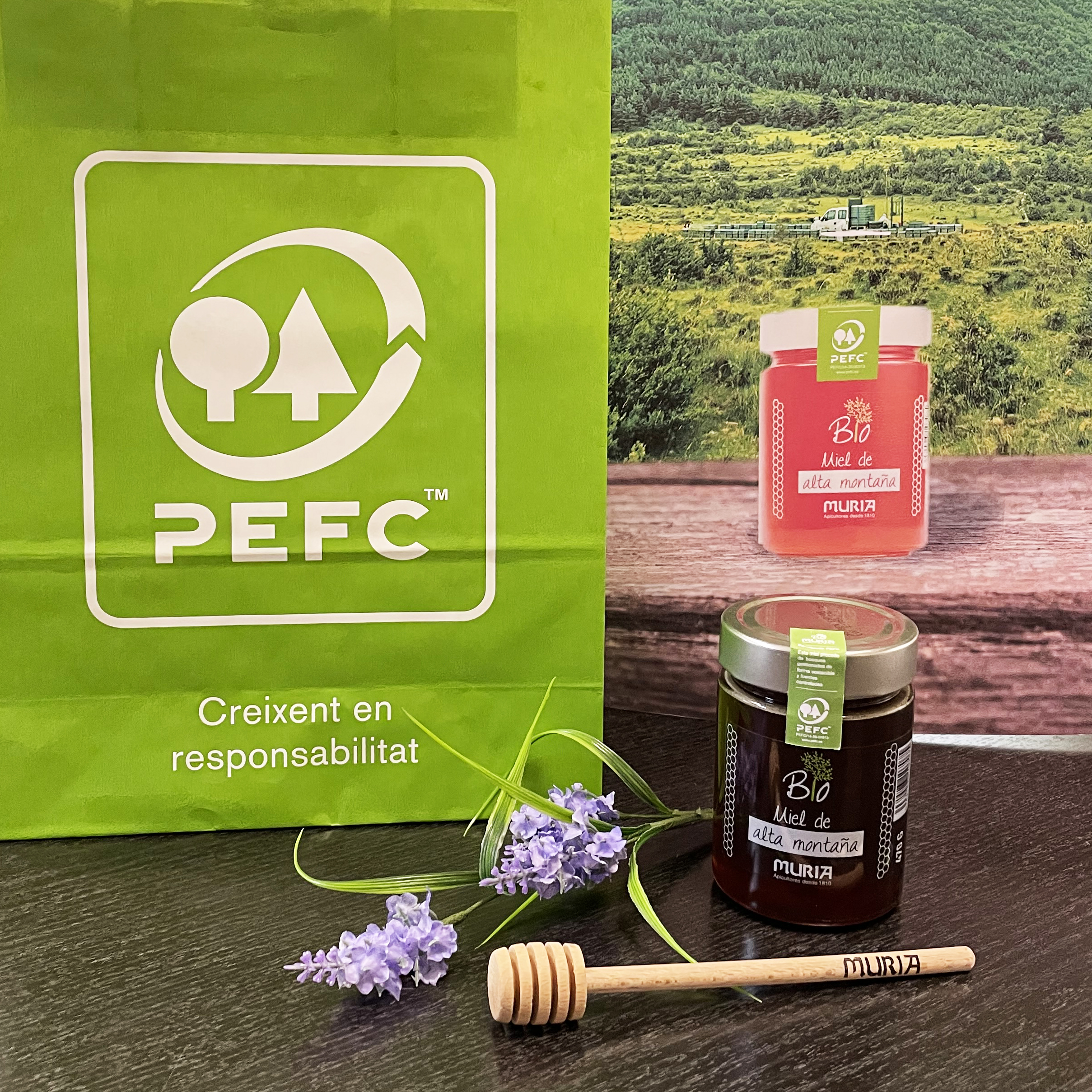 Miel Muria certifies the first honey from sustainable forests